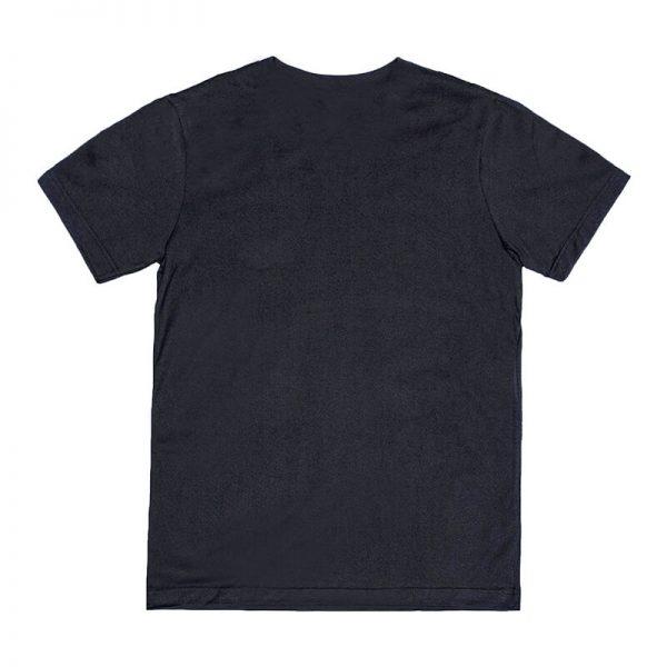 Unisex Black Advance T-shirt Back View