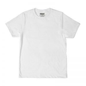 Unisex White Advance T-shirt Front View