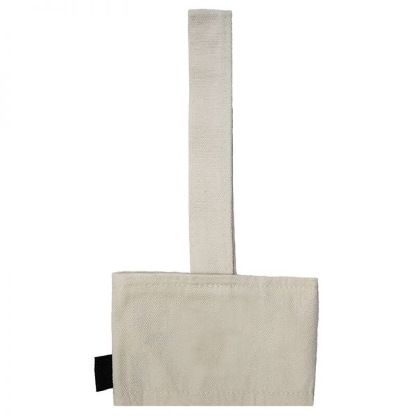 Canvas Cup Holder Front Zoom View