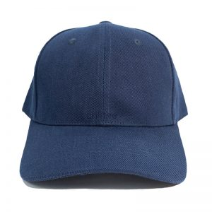 Custom and Embroider your Dark Blue Cap Front View