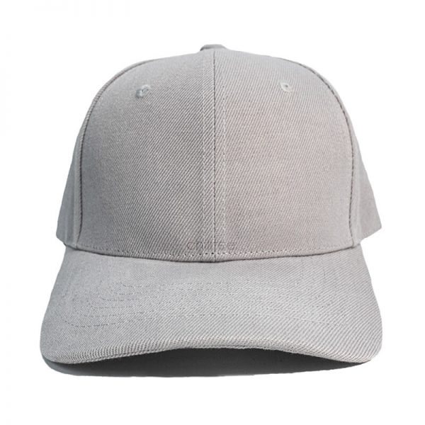 Custom and Embroider your Grey Cap Front View