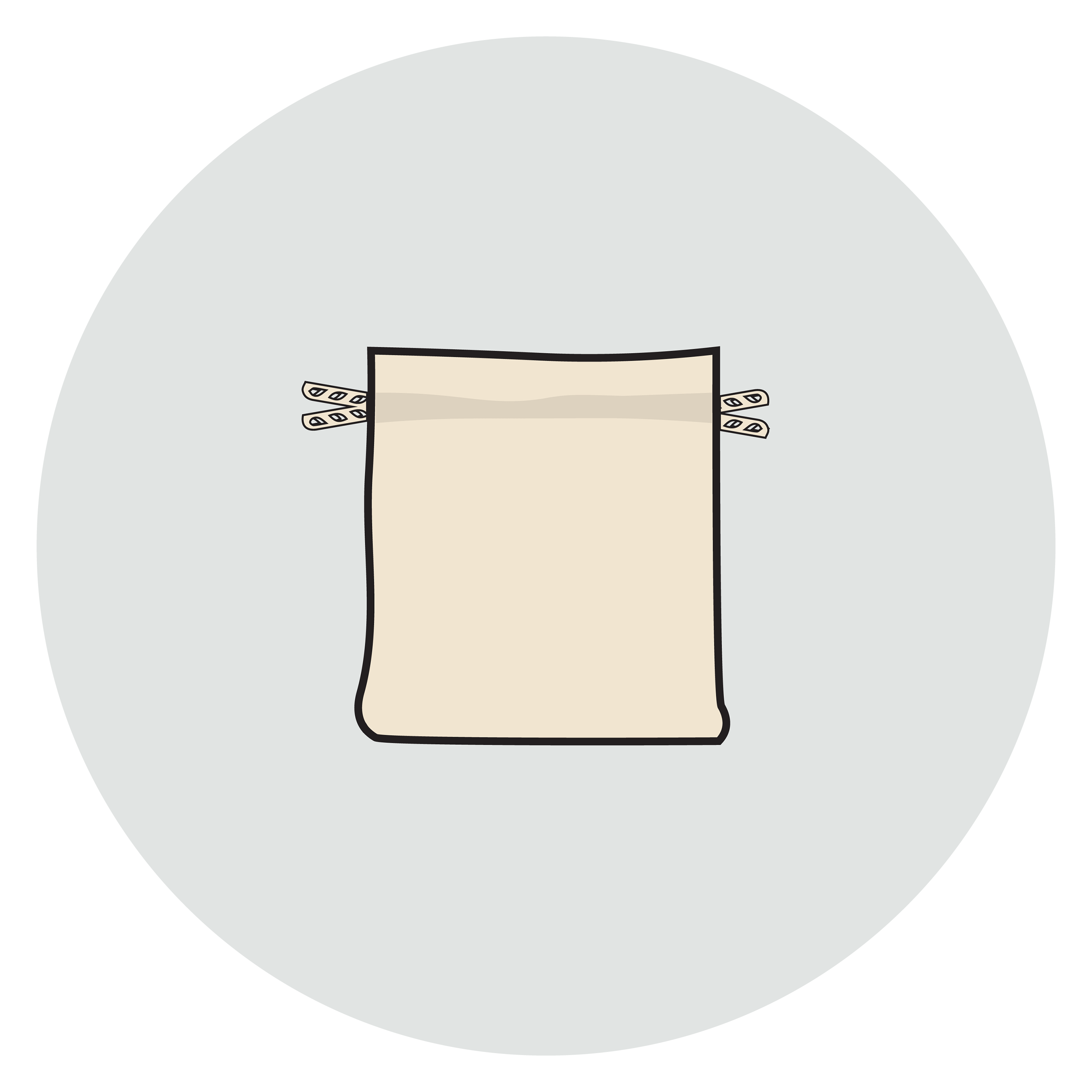 custom drawstring bag stage 1