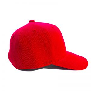Custom and Embroider your Red Kids Cap Right View