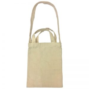 Custom your Mini Canvas Tote-Bag Back View