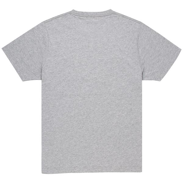 Unisex Grey Crew T-shirt Back