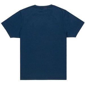 Unisex Navy Blue Crew T-shirt Back