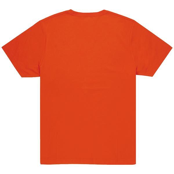 Unisex Orange Crew T-shirt Back