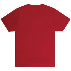 Unisex Red Crew T-shirt Back
