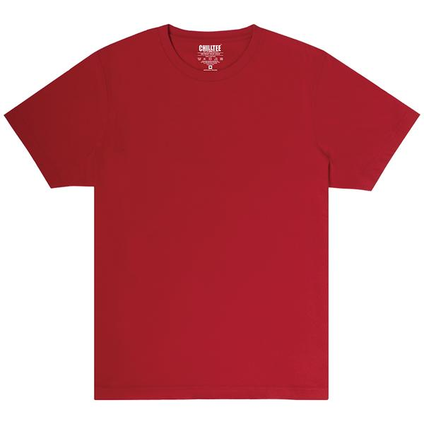 Unisex Red Crew T-shirt Front