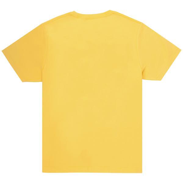 Unisex Yellow Crew T-shirt Back