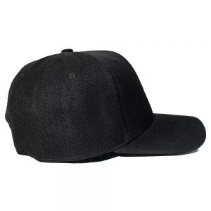 Custom and Embroider your Black Cap Right View