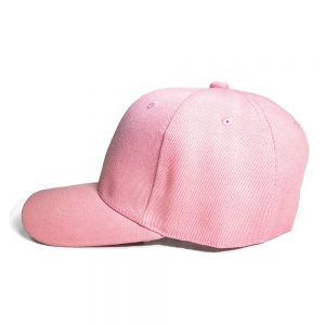Custom and Embroider your Baby Pink Cap Left View