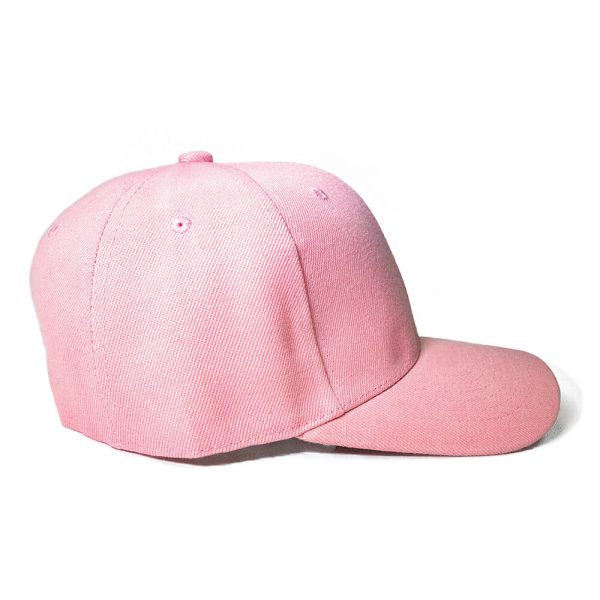 Custom and Embroider your Baby Pink Cap Right View