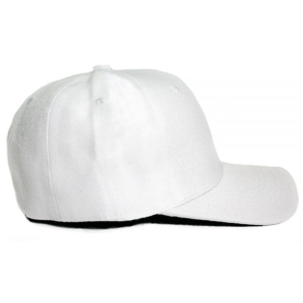 Custom and Embroider your White Cap Right View