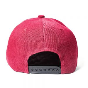 Custom and Embroider your Wine Red Cap Back View