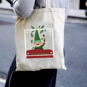 Hello! From the Elf Team Canvas Tote-bag Freesize, Custom our iTee template and make it yours. Model View
