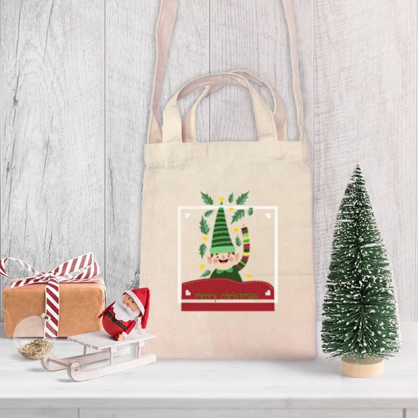 Hello! From the Elf Team Mini Canvas Tote-bag, Custom our iTee template and make it yours. Product View