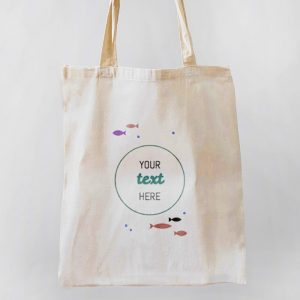 Under the Sea Canvas Tote-bag Freesize, Custom our iTee template and make it yours. Product View