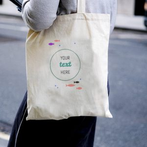 Under the Sea Canvas Tote-bag Freesize, Custom our iTee template and make it yours. Model View