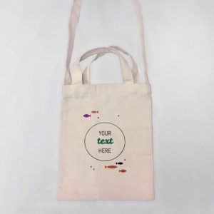 Under the Sea Mini Canvas Tote-bag, Custom our iTee template and make it yours. Product View