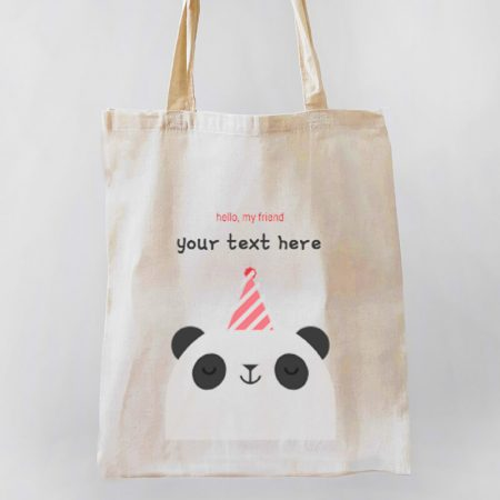 Hello Panda Tote-bag