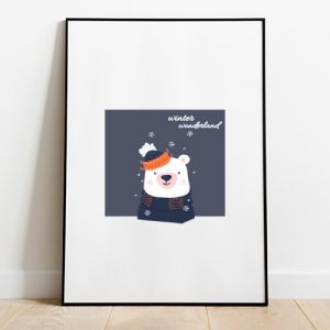 Winter Wonderland Tote-bag Thumbnail, Custom our iTee template and make it yours.