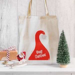 Where's Santa? Canvas Tote-bag, Custom our iTee template and make it yours. Product View
