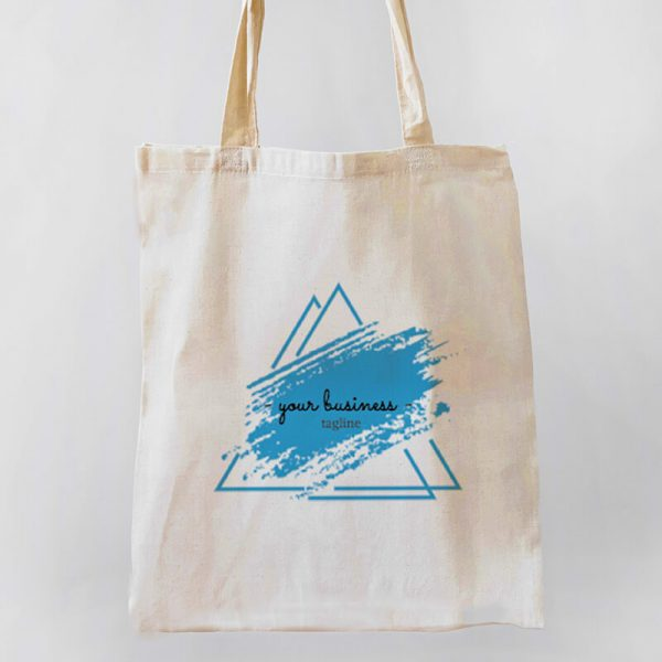 Your Business Tagline Canvas Tote-bag Freesize, Custom our iTee template and make it yours. Product View