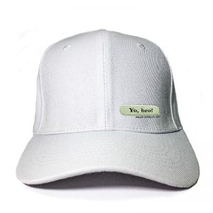 My Message in White Embroidered Cap, Custom our iTee template and make it yours. Product View
