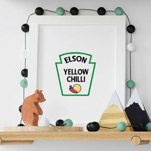 Create your You are my yellow chili White Kids T-shirt Thumbnail, Custom our iTee template and make it yours.