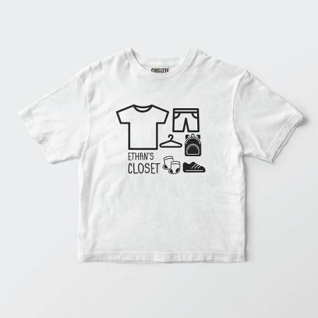 I'm A Moving Closet Kids T-shirt