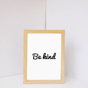 Be Kind Embroidered Cap Thumbnail, Custom our iTee template and make it yours.