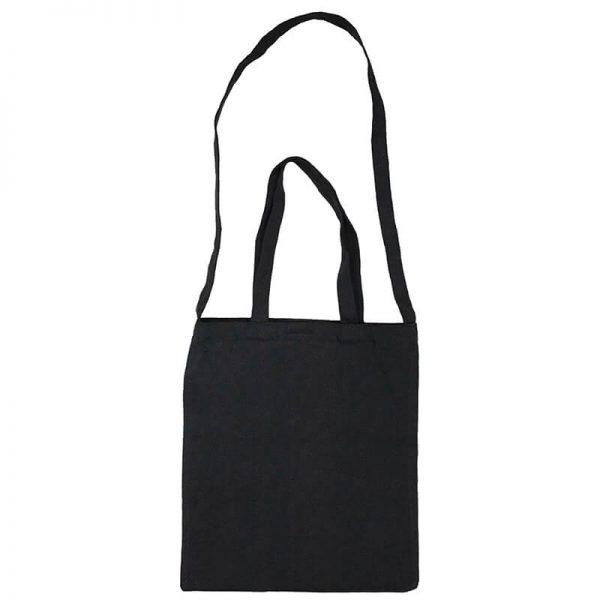 Custom your Black Versatile Tote-Bag Freesize, Front View