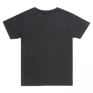 Kids Black Crew T-shirt Back View