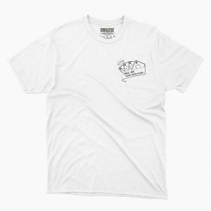 Custom your King & Queen White Unisex Crew T-shirt Template, Front Product View for Men