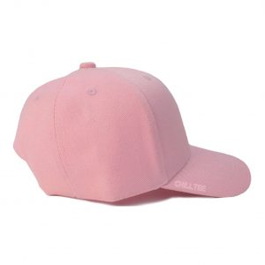Custom and Embroider your Baby Pink Kids Cap Right Side View