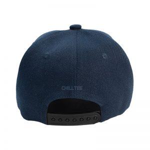 Custom and Embroider your Navy Kids Cap Back View