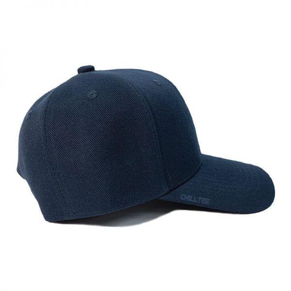 Custom and Embroider your Navy Kids Cap Right Side View