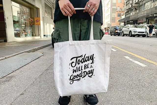 custom canvas XL tote-bag
