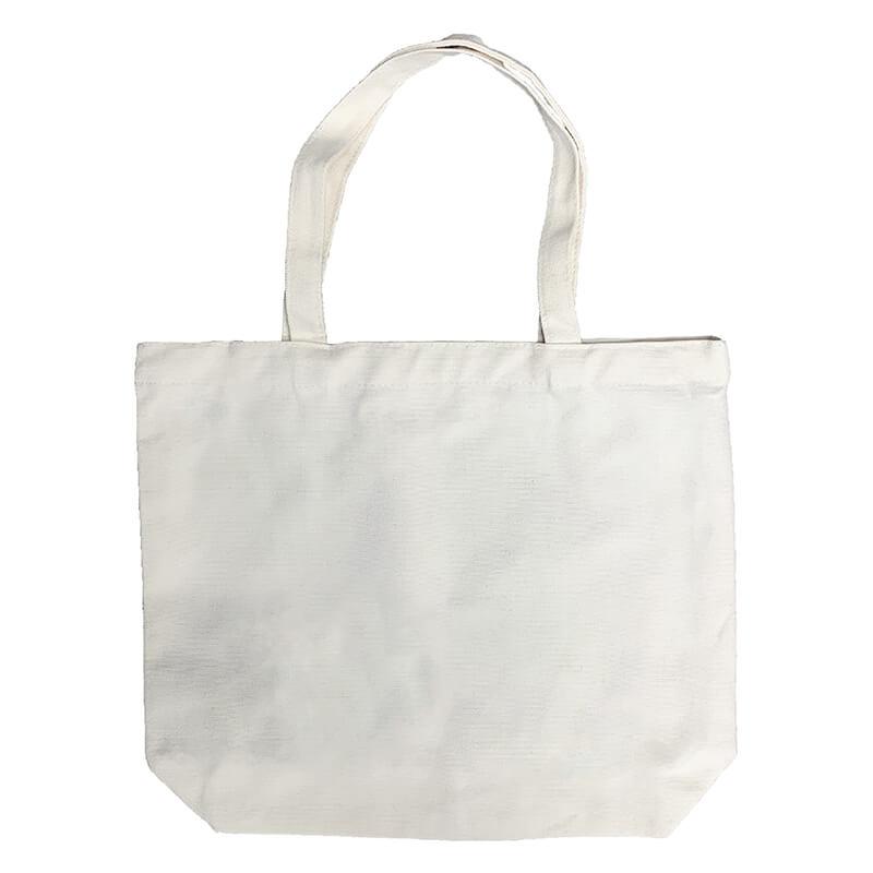Canvas Flat Bottom Tote-bag