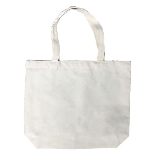 Custom your Canvas Tote-bag (M), Back View