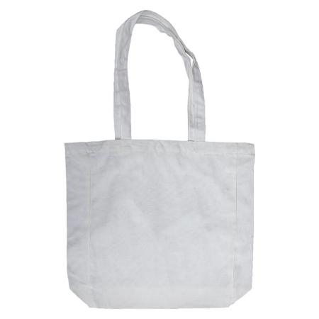 White Lightweight Flat Bottom Tote-bag