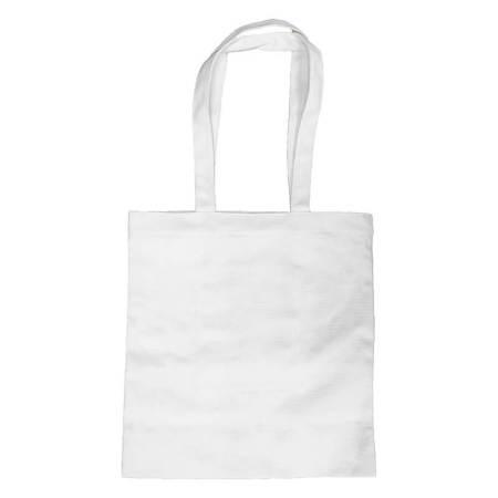 White Long Strap Tote-bag