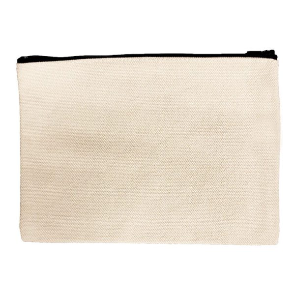 Custom your Beige Pouch Bag, Back