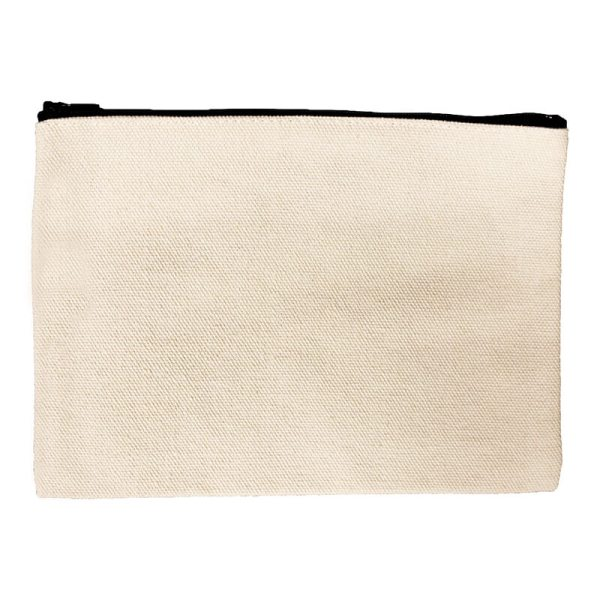 Custom your Beige Pouch Bag, Front